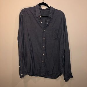 J.Crew Slim Lightweight Chambray Buttom Down